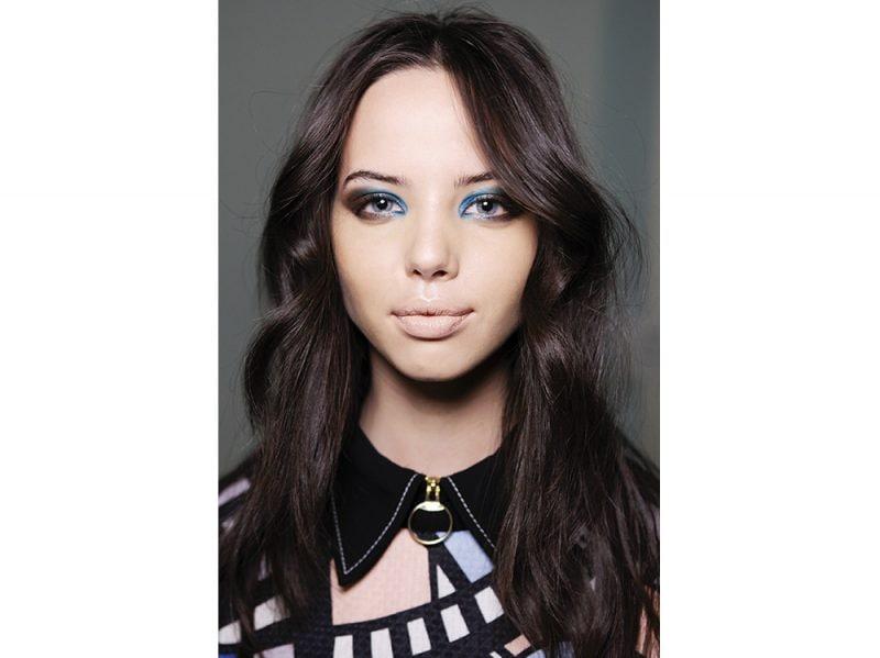 make up occhi blu kim kardashian ( (3)