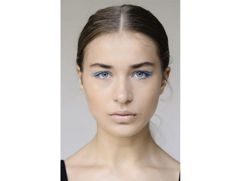 make up occhi blu kim kardashian ( (4)