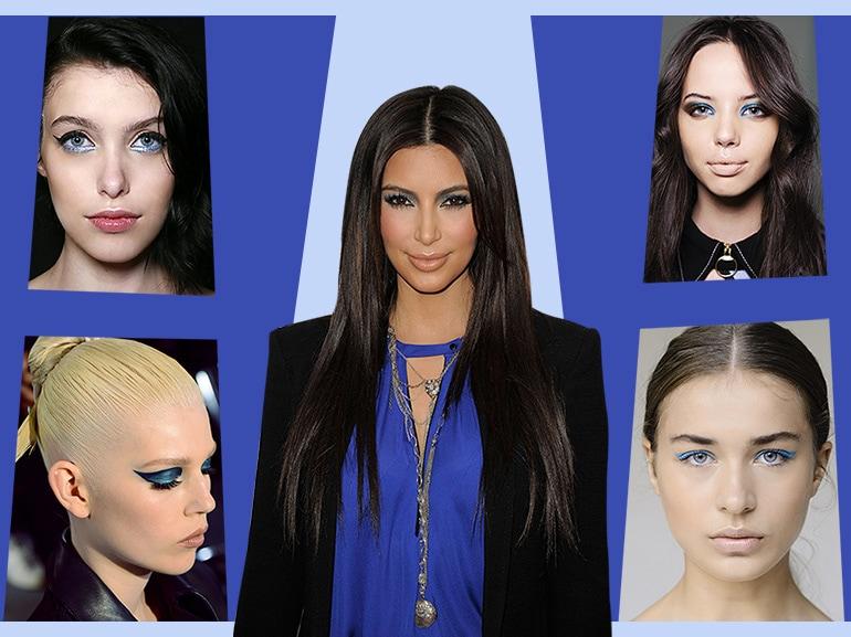 make up occhi blu kim kardashian COVER MOBILE