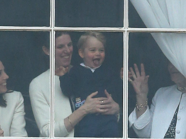 nanny and prince george