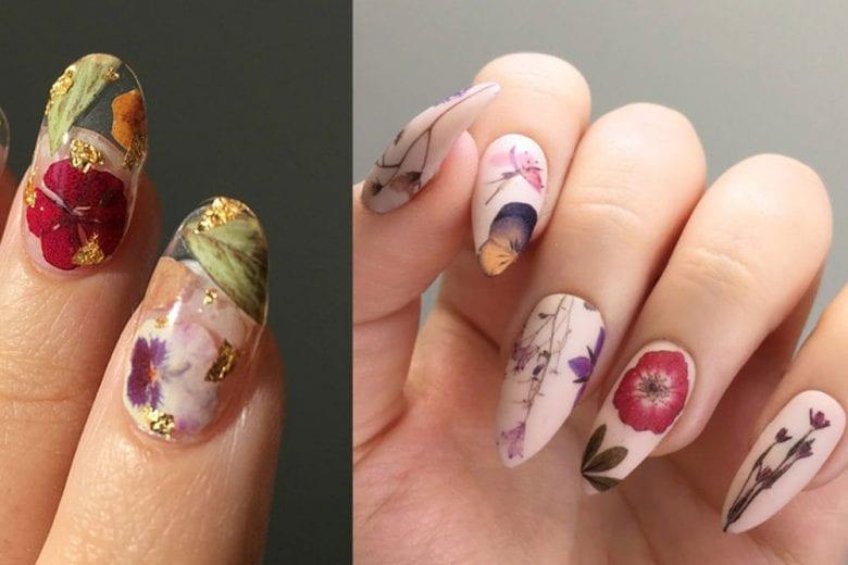 Fiori sulle unghie: le nail art più romantiche da copiare