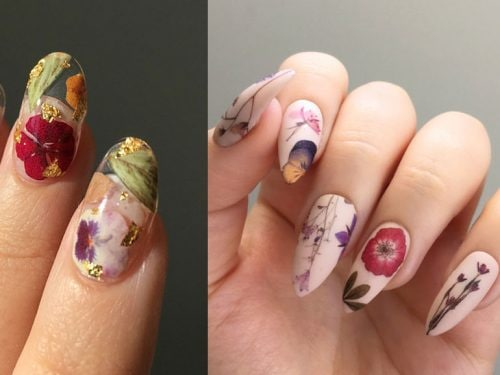 Fiori Unghie.Fiori Sulle Unghie Le Nail Art Piu Romantiche Da Copiare Grazia It