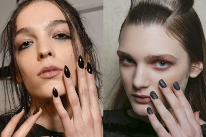 Unghie gel nere: le nail art più cool cui ispirarsi