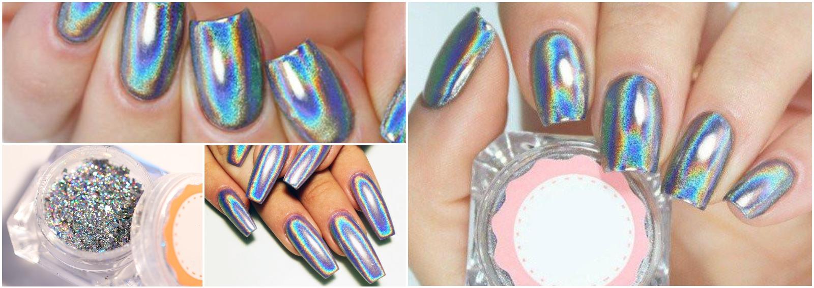 unghie olografiche holo nails cover desktop