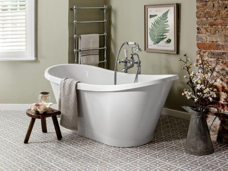 Rivestimenti alternativi alle piastrelle per il bagno grazia