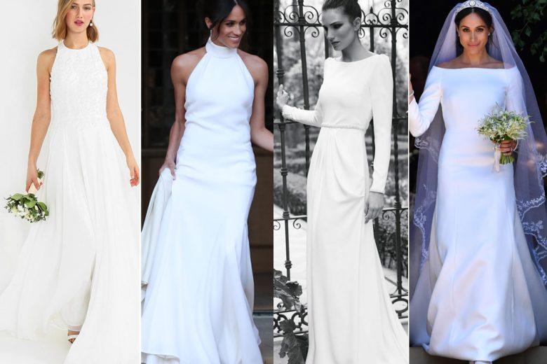 14 abiti da sposa come quelli indossati da Meghan Markle