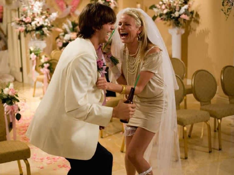 Cameron Diaz vestito sposa