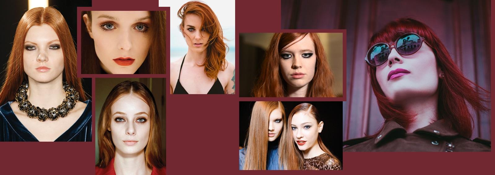 Come truccarsi con i capelli rossi