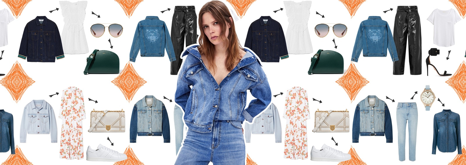 Giacca di jeans: 4 look