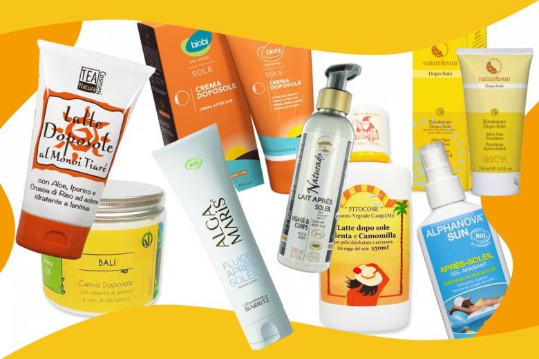 Doposole naturale: i migliori prodotti per la pelle sensibile