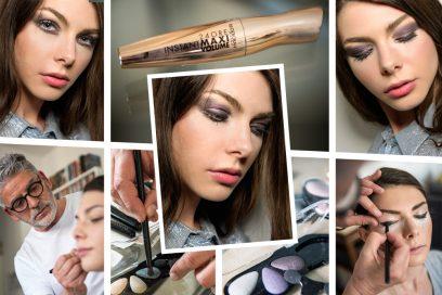 Il trucco occhi metallico è il trend dell'estate: il backstage beauty con Deborah Milano