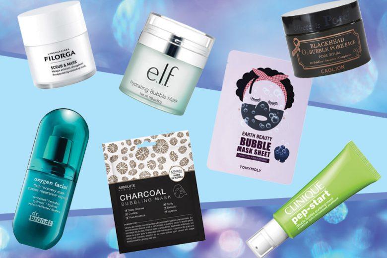 Bubble mask: cosa sono e a cosa servono le maschere che frizzano sul viso