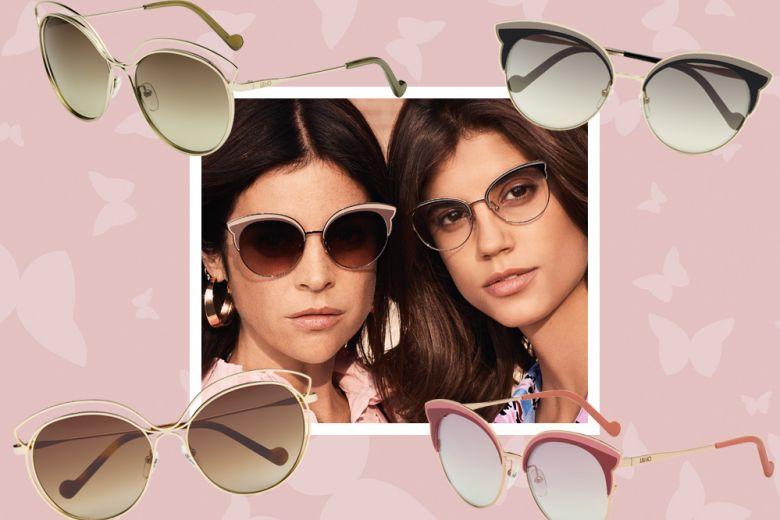 Glam e ultrafemminili: i nuovi occhiali da sole Butterfly di Liu Jo per l'estate 2018