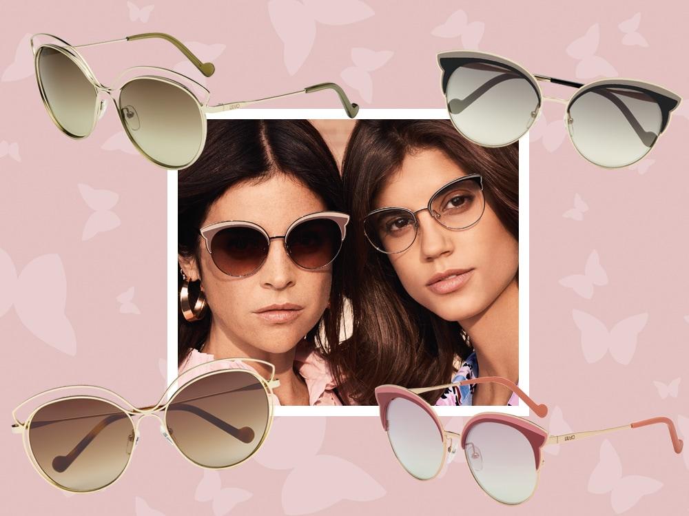 100% di alta qualità più tardi spedizione gratuita Glam e ultrafemminili: i nuovi occhiali da sole Butterfly di Liu ...