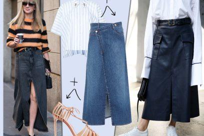 Come indossare le gonne lunghe: 5 idee look da copiare