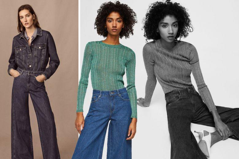 Chic in jeans? Con i modelli a palazzo si può!