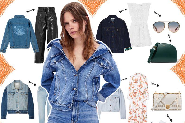 4 look cool con la giacca di jeans