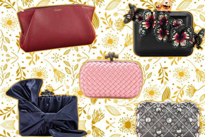 Clutch e pochette eleganti: i modelli must have per la primavera-estate 2018