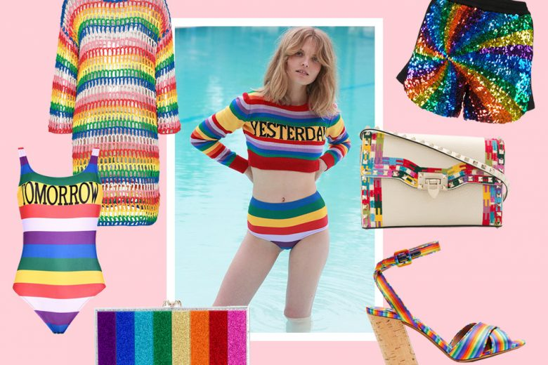 Somewhere over the rainbow: la moda arcobaleno che vi svolterà la giornata