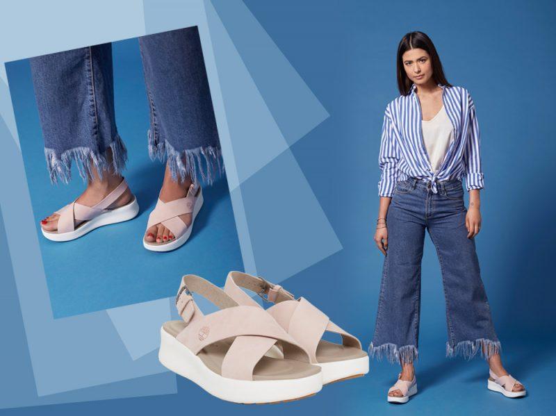 Los Angeles Wind, i sandali flat di Timberland che coniugano alla perfezione comfort e stile