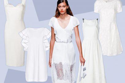 Vestiti bianchi: i modelli passepartout della Primavera-Estate