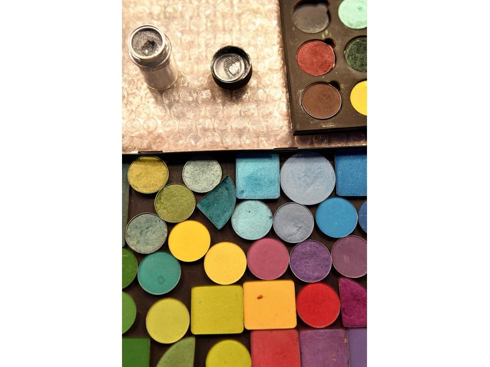 trucco colorato