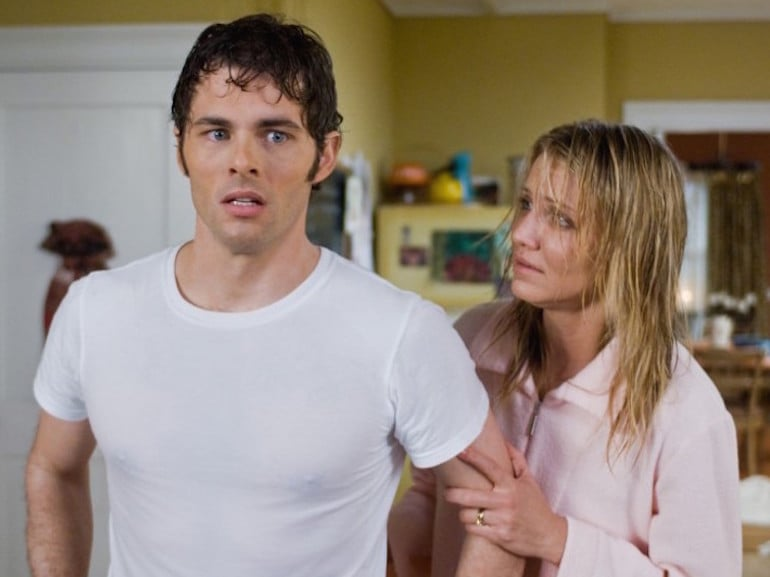 James Marsden e Cameron Diaz