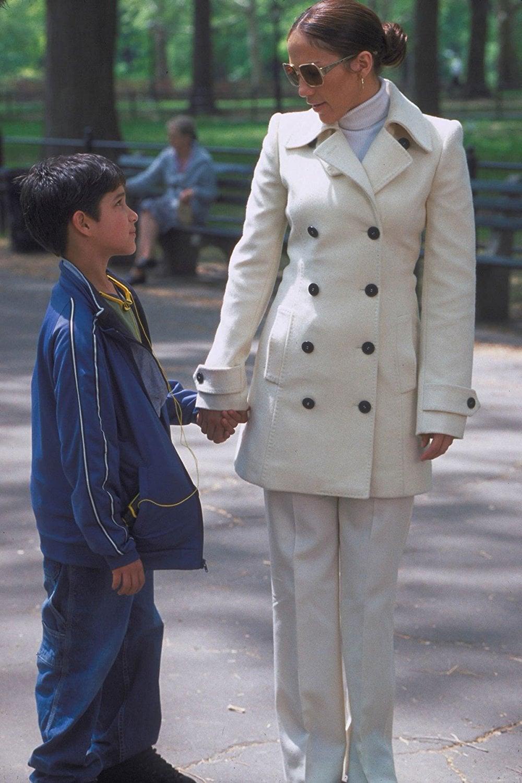 Jennifer Lopez cappotto bianco