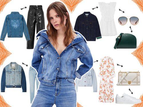 Giacca di jeans  come indossarla in 4 outfit per la primavera fe238a6968d