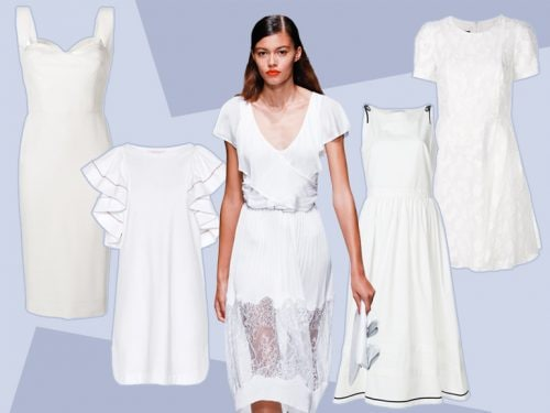 8481e33d3f88 Vestiti bianchi: lunghi, corti, eleganti i modelli per l'estate 2018