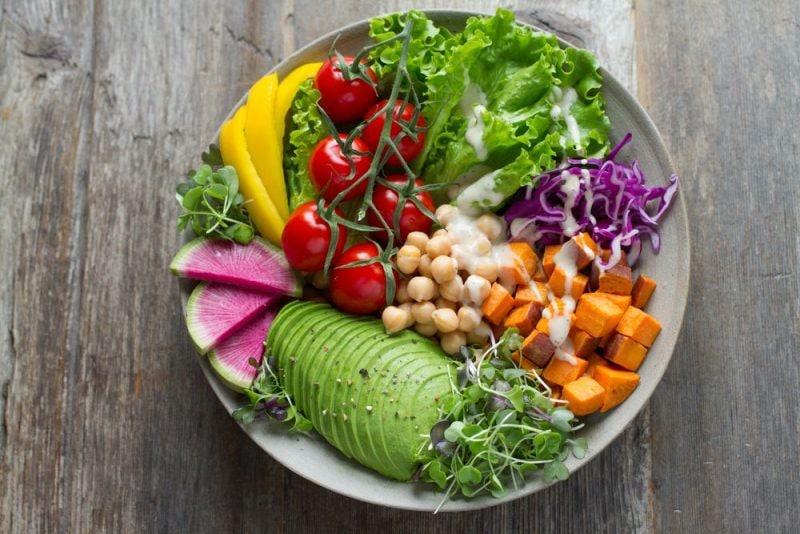 Piatto verdure dieta