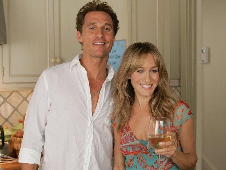 Sarah Jessica Parker e Matthew McConaughey