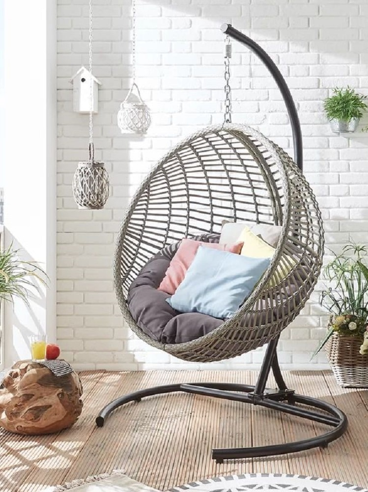 Shiko+Hanging+Chair+with+Stand