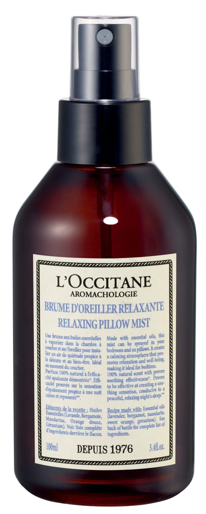 Spray Rilassante per cuscino AROMACHOLOGIE_L'Occitane