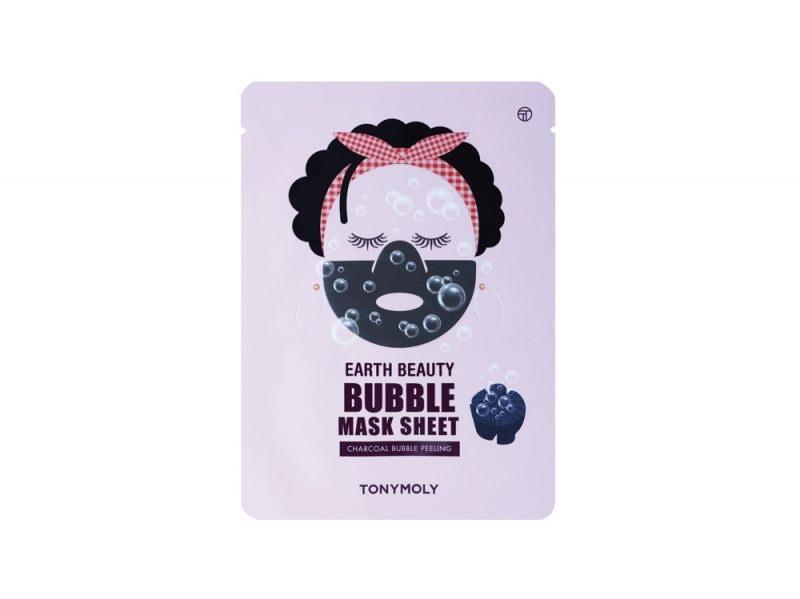 bubble-mask-cosa-sono-e-a-cosa-servono-le-maschere-che-frizzano-sul-viso-thumbnail_TonyMoly Earth beauty Bubble Mask Sheet