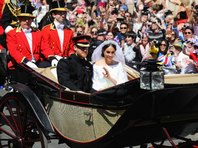 carrozza harry meghan