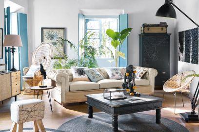 10 idee originali per decorare la casa in stile tropicale