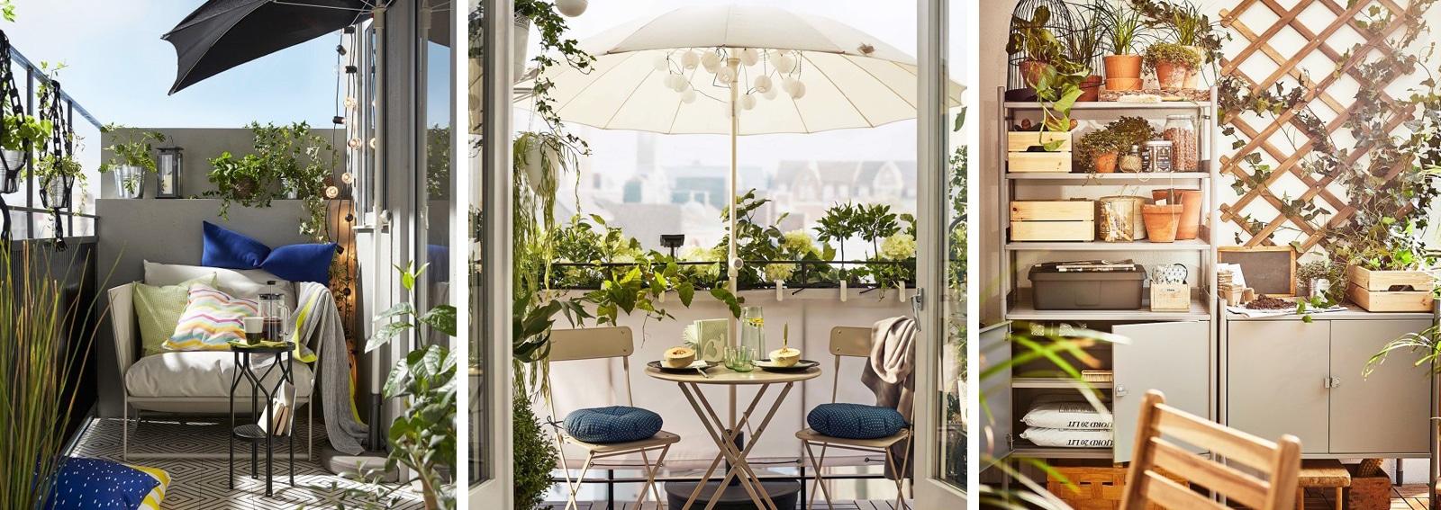 Come arredare il balcone con ikea 10 idee da copiare for Idee per arredare un ufficio
