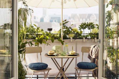 Balconi Piccolissimi : Come arredare il balcone con piante e fiori grazia