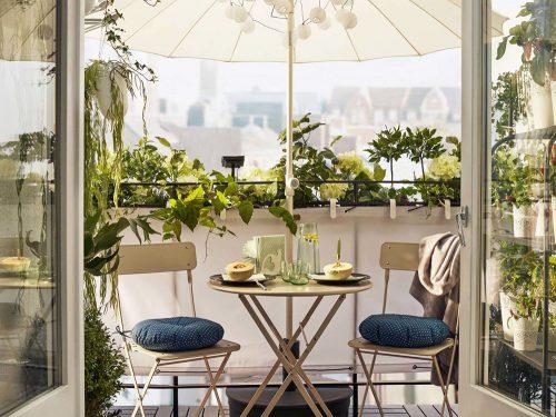 Arredo balconi e terrazze tende da sole per negozi tende da sole bracci per esterno with arredo - Arredo esterno ikea ...