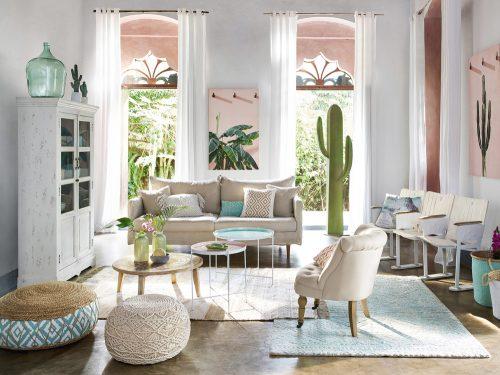 Pareti Bianche E Beige : Colori perfetti per decorare le pareti di casa in estate