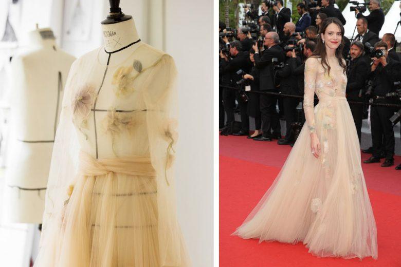 Dior a Cannes: come nasce un abito per la Croisette