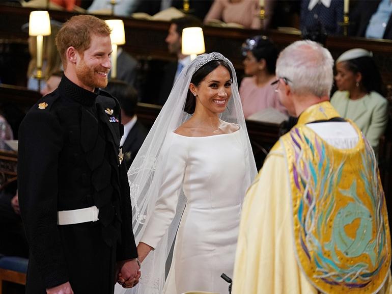 harry meghan matrimonio altare
