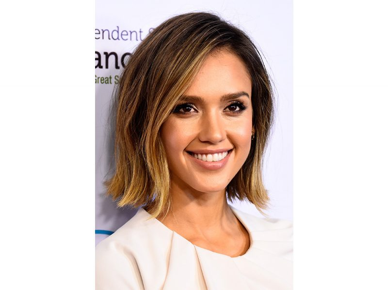 jessica alba beauty look capelli make up (1)