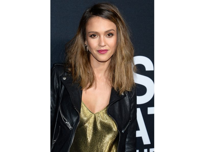 jessica alba beauty look capelli make up (6)