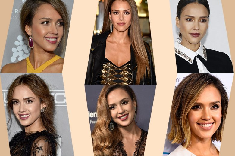 Jessica Alba capelli e make up: i beauty look più belli