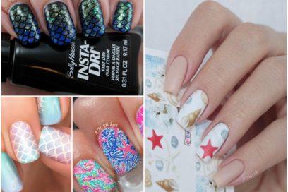 Marine nail art: le unghie a tema marino per l'estate