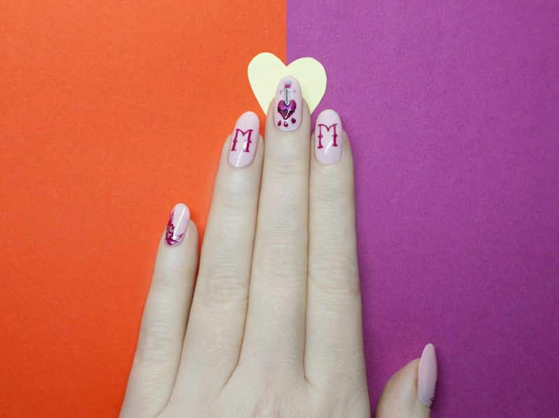 nail-art-i-love-mom