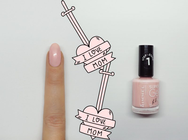 nail-art-i-love-mom-accent-step1
