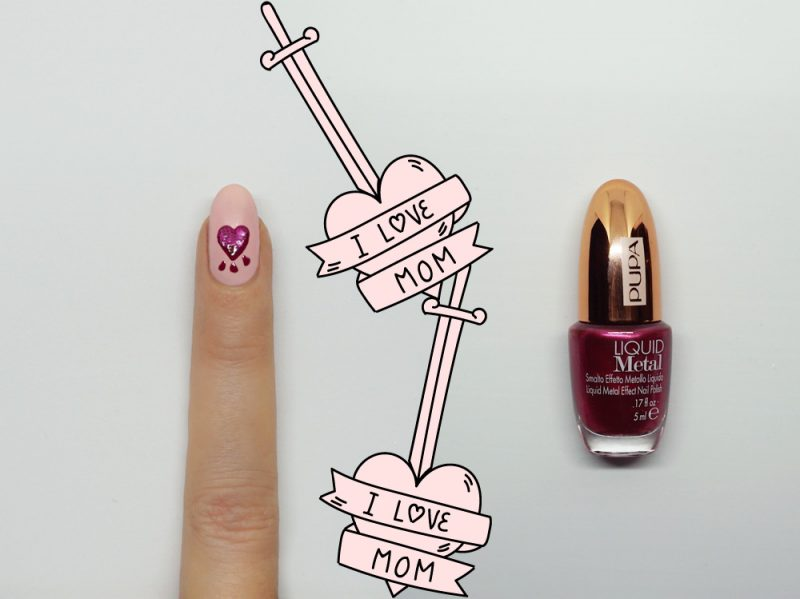 nail-art-i-love-mom-accent-step3